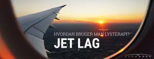 Blog: Hvordan bruger man lysterapi for at undgå jet lag